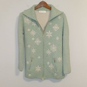 Escada quilted sweater
